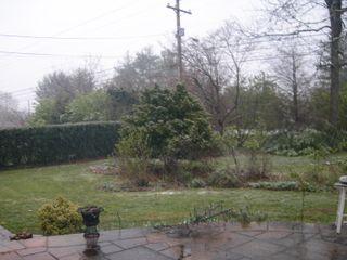 Snow April 6