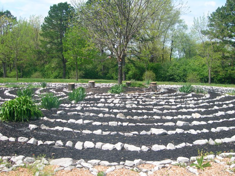 Mercy Center Labyrinth 2