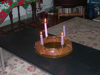 Advent Wreath 1 2011