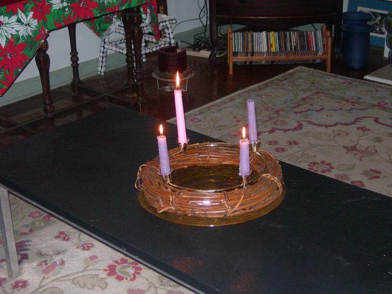 Advent Wreath 1 2011
