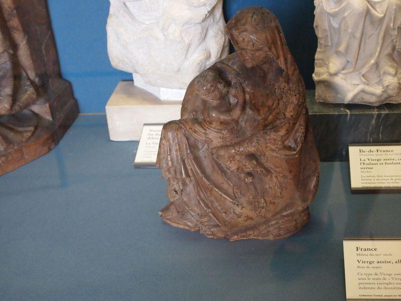 Louvre Nursing Madonna